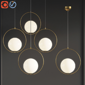 Suspension Pendant light Brass PL372