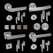 Handles for doors and windows Mandelli (4 pcs., 4 colors) 6