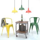 Set of loft furniture