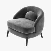 Joseph Dirand Bocca lounge chair