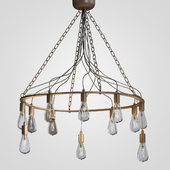 Blood Wire Chandelier Black 12