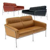 Arne Jacobsen Series 3300 Seat Sofa