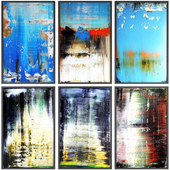 Paintings abstract | set 111