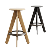 Tom Dixon / Slab Bar Stool