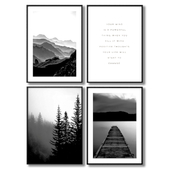 Forest posters.