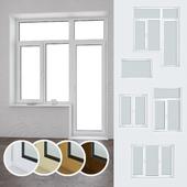 A set of plastic windows 06