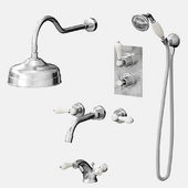 A set of mixers for bathroom and shower Bruma