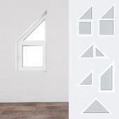A set of plastic windows 11