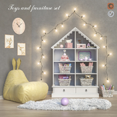 Toys and furniture set 21