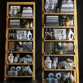 Shelving in the bathroom 7