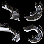 Stair forging
