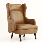 Arteriors Budelli Wing chair