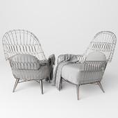 Manten wing chair