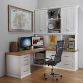 Desktop in white