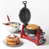 KitchanAid Artisan waffle maker and cooking kit