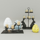 Pottery barn easter decor