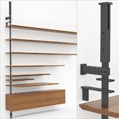 Cattelan Italia - Airport - elements for assembling the rack