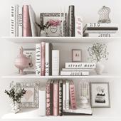 Pink dekor set