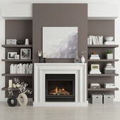 Fireplace and decor 19