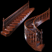 Stairs: Wooden