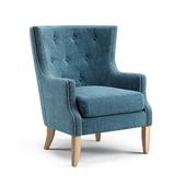 Holstein Wingback Chair