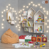 Toys and furniture set 24