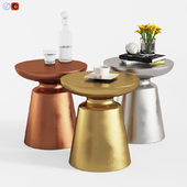 Martini Coffee Tables Set (3 Colors)