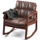 Armchair with jacket