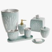 Setai Pale Blue Porcelain Bath Accessories