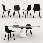 AQUA Dining table + FELIX Chiar