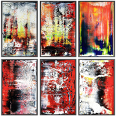 Paintings abstract | set 113