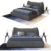 Dorelan D_Sign Smooth bed by Enrico Cesana
