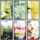 Paintings abstract | set 114