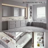 L'ORIGINE Aeterna Bathroom set (vray GGX, corona PBR)