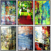 Paintings abstract | set 115