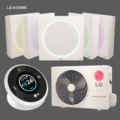 LG Artcool Stylist Inverter V LG A12IWK