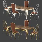 Chair Ghirigori Cantori table Raffaello Cantori