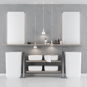 Bathroom furniture set 4 Scavolini QI