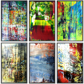 Paintings abstract | set 116