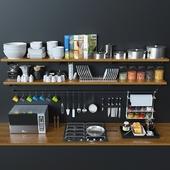 Kitchen Decoration Set - 6