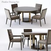 Bernhardt Profile Dining Set 2