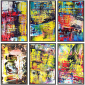 Paintings abstract | set 117