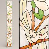 """Stained-glass window """"Birds"""""""