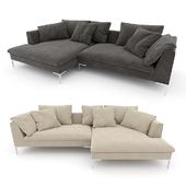 Sofa B & B Italia Charles Large
