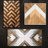 Wooden panel 72