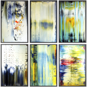 Paintings abstract | set 118
