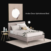 westelm Andes Deco Upholstered Bed