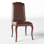 CALAIS LEATHER DINING SIDE CHAIR
