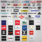 58 Fashion Brands Logos