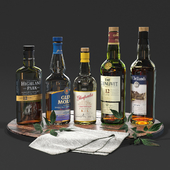 Set of bottles 02